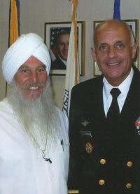 Dr. Khalsa with Surgeon General Richard Carmona
