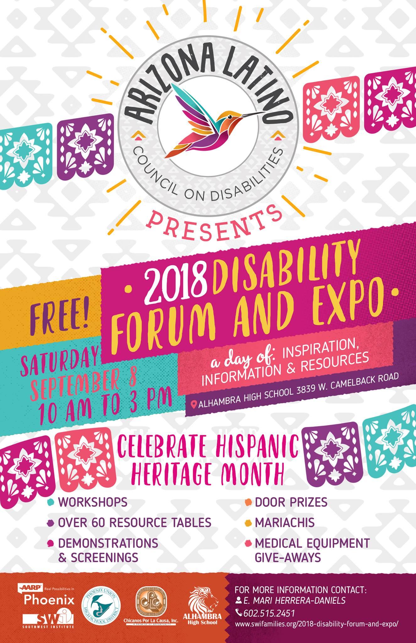 2018 Disability Forum & Expo