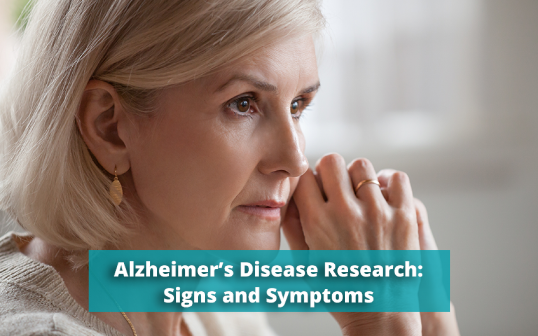 A Brief Look at Alzheimer's Disease – Signs and Symptoms