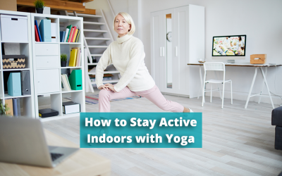 Alzheimer's Brain Body Connection: How to Stay Active Indoors with Yoga