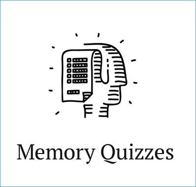 memory quizzes
