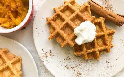 Bon Appétit: Pumpkin Waffles